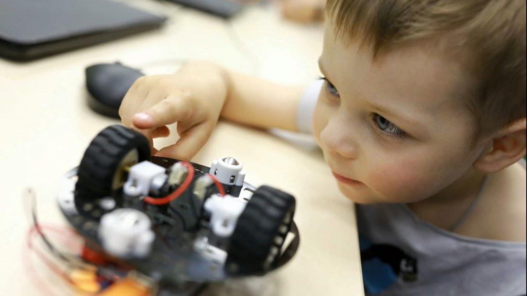 robótica y programación para niños